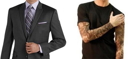 suit-tshirt
